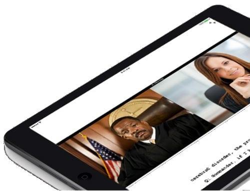 Court Reporting iPad Mobile App