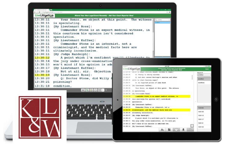 Virtual Deposition Transcript Software